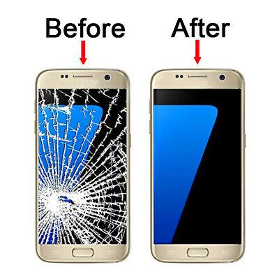 New Touch Screen Digitizer+ LCD Display Assembly for Samsung S7 Edge Gold