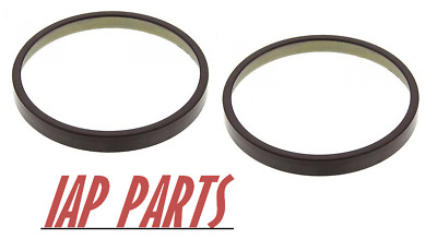 2 New Front CV Axle ABS Tone Rings Fits 1999-2004 Jeep Grand Cherokee Pair