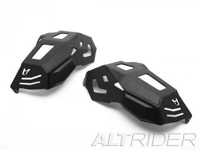 AltRider Cylinder Head Guards for the BMW R 1200 Water Cooled - Black