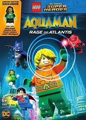 Lego Dc Super Heroes: Aquaman - Rage Of Atlantis 8839295959 (DVD Used Very Good)