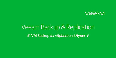 Veeam Backup and Replication Enterprise plus 9.5 activate Unlimited CPUperpetual