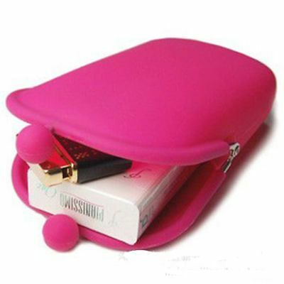 Purse Key Novelty Storage Stationery Candy Color Bag Wallet Coin Silicone