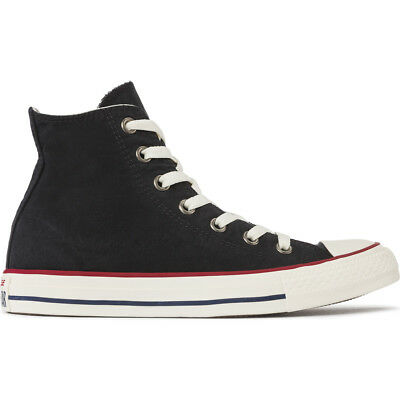 "Men's Converse Chuck Taylor All Star High ""Black/Garnet"" Fashion Casual 157607C"
