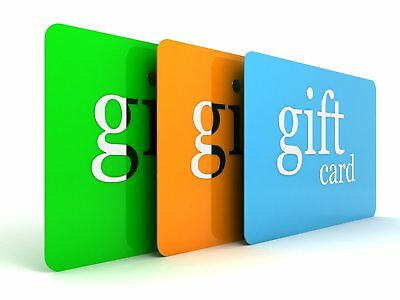Gift Card - Select from $25, $50, $75, $100 or $150 and make someone's holiday s