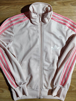info for 2c1ae 4ced4 Adidas Originals 90 s Vintage Womens Tracksuit Top Jacket Pale Pink