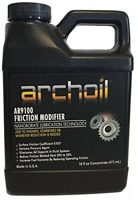 Archoil AR9100 16oz. Top Rated Friction Modifier Oil Additive Powerstroke Diesel