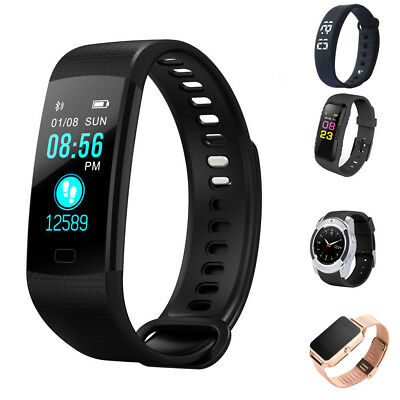 Smart Watch Bracelet Wristband Heart Rate Monitor Blood Pressure Fitness Tracker