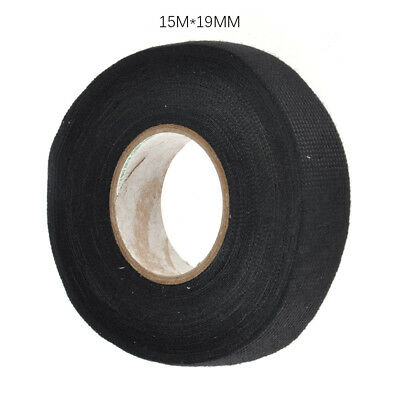 1x Durable Tape Adhesive Lint Sticky Cloth Fabric Wiring Loom Harness For Car