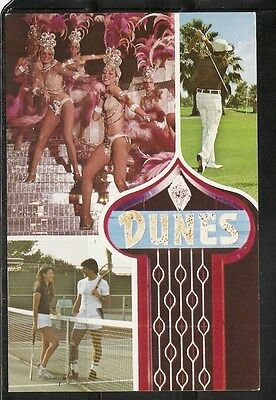 The Dunes Hotel and Country club , Las Vegas , Nevada.  Vintage Postcard.
