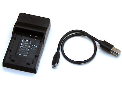 USB Battery Charger For Nikon Coolpix S60 S80 S200 S202 S203 S205 S210 S220 S600