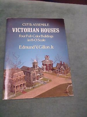 Cut & Assemble Victorian Houses/H-O Scale - Edmund V. Gillon Jr.