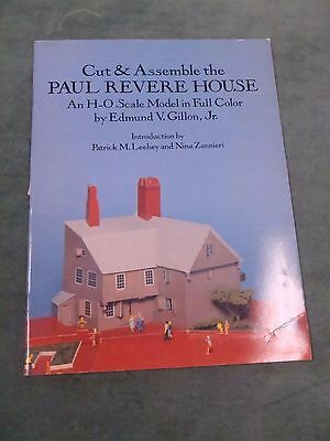 Cut & Assemble The Paul Revere House - Edmund V. Gillon, Jr./H-O scale
