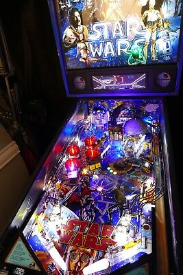 Star Wars Pinball Machine >> Data East Star Wars Pinball Machine 5 800 00 Picclick