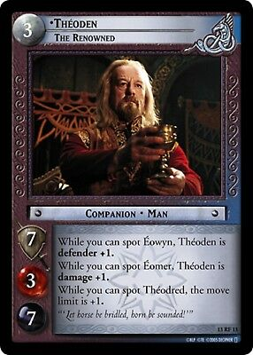 LOTR TCG Theodred Second Marshall of the Mark 13R138 Bloodlines MINT