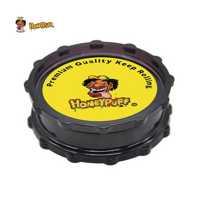 Octagon Plastic Tobacco Herb Grinder 70MM Herbal Crusher Miller with Shark Teeth