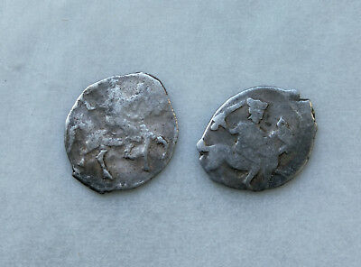 Lot of 2 Medieval silver coin Ancient Vikings of Kievan Rus