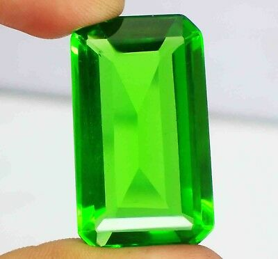 67.40 Ct EGL Certified Wonderful AAA+ Transparent Green Moldavite Gemstone BZ528