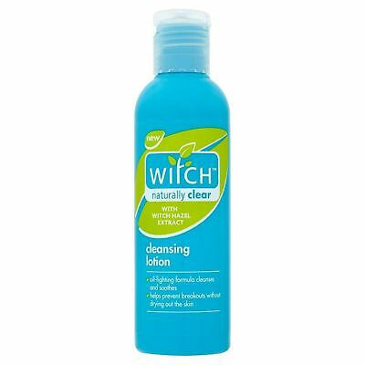 6 X  Witch Naturally Clear  Cleansing Lotion With Witch Hazel Extract 200Ml