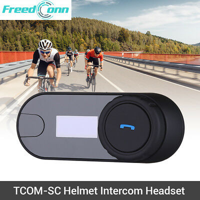 FreedConn TCOM-SC 2.4GHz Bluetooth Motorcycle FM Radio Helmet Intercom Headset