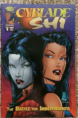 Cyblade Shi Battle For Independents #1 Comic Image 1995 First Witchblade Sara