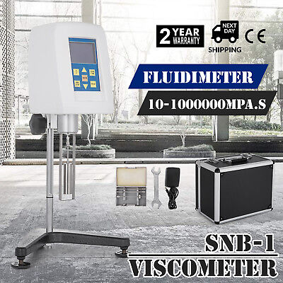 Rotary Viscometer Fluidimeter Digital Display anti- interference display SNB-1