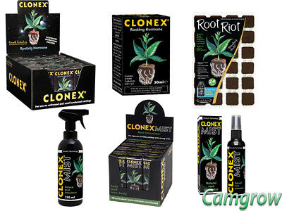 Clonex - Rooting Hormone Gel & Mist Ideal For Cuttings / Seeds