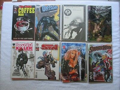 Lot Of 40 Independent Comic Books  ***All Bagged & Boarded***  See Inside