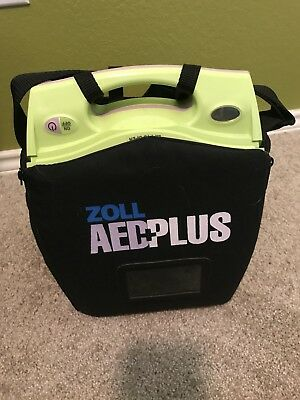 Zoll AED Fully Automatic Plus Package Defibrillator Batteries, Carry Case