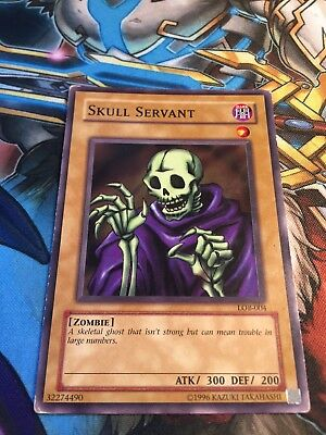 Yugioh CardKing of the Skull Servants Common LP-NM TLM-EN032