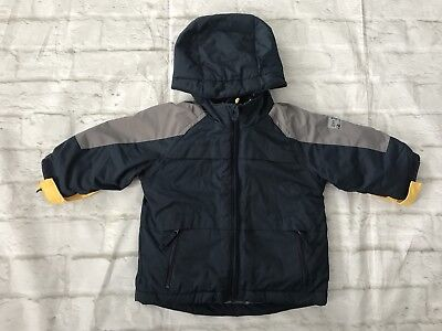 d0428c133 THE CHILDRENS PLACE boys Winter Snow 3 in 1 JACKET BLUE GRAY 6-9 Mon ...