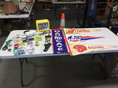 Junk Drawer Lot New York New Jersey Sports Memorabilia And Other Junk