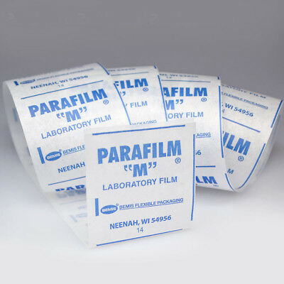 "Parafilm M Roll All-purpose laboratory film, 2"" wide x 10' plus 1' FREE (11')"