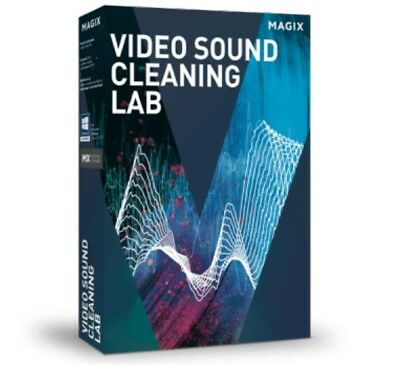 MAGIX Video Sound Cleaning Lab Software DIGITAL KEY