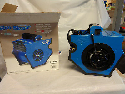 Blue Blower The Cool Tool Powerful Air Mover/ VGC!