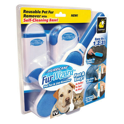 2018 New Hurricane Fur Wizard Pet Fur Remover Travel Size Brush - As Seen On TV