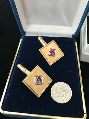 Knights of Columbus 3rd Degree Cuff-link Set, K of C