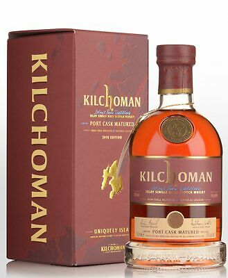 2018 Kilchoman Port Cask Matured Single Malt Scotch Whisky (700ml)