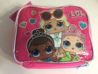 LOL SURPRISE DOLL School Lunch Box INSULATED BAG TOTE BIG SISTERS Brand NEW
