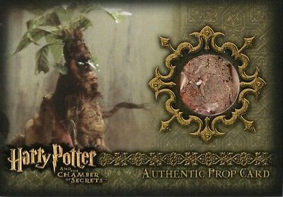 Harry Potter & The Chamber Of Secrets, Authentic Prop Card 'Mandrake' #106/360
