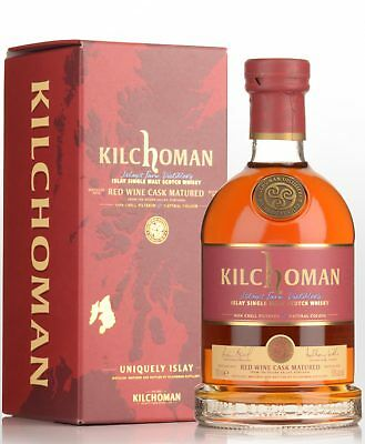 Kilchoman Red Wine Cask Matured Single Malt Scotch Whisky (700ml)