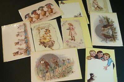 Lot of5 NEW 90/'s Vintage Pop-Up GREETING CARDS Courtier UK 3D diecut Victorian