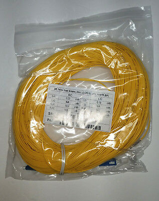 SC/UPC-LC/UPC Fiber Optic OTDR Launch Cable 100 meters SM 1310/1550nm Singlemode