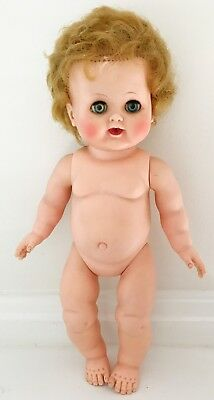 """Vintage MADAME ALEXANDER - BABY KATHY Cry Sound Doll Toy 14"""" Tall"""