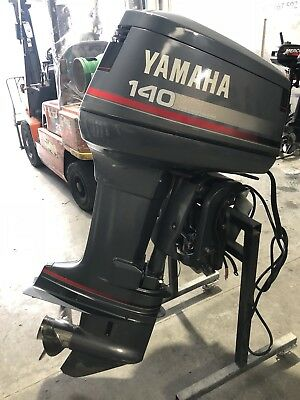 Yamaha 140hp  Outboard Motor Immaculate Condition (Interstate Freight Available)