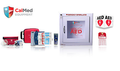 Philips HeartStart FR2+ AED Defibrillator VALUE PAK w/ 2 YR WARRANTY W/ PEDI PAD