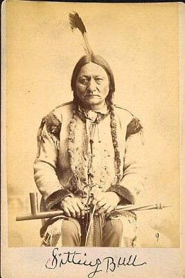 "New Art Print of 1884 Palmquist & Jurgens ""Sitting Bull""  South Dakota  13x19"