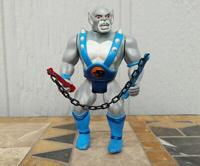 Vintage Thundercats PANTHRO Action Figure Complete with NUNCHUCKS