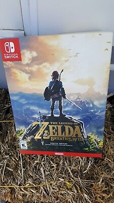 Legend of Zelda Breath of the Wild Nintendo Switch Special Edition BOX ONLY
