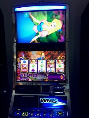 WMS ALICE THE MAD TEA PARTY! BB2 Software Slot Machine Williams Bluebird 2