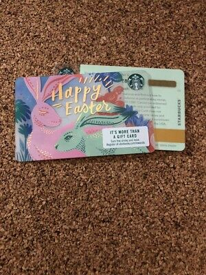 Starbucks Card Happy Easter 2017 New Pin Intact  #6149